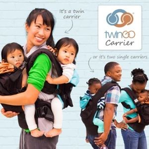 TWINGO baby carriers WITH INSERTS included